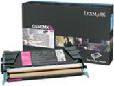Lexmark High Capacity Magenta Toner Cartridge - Laser - 7000 Page - Magenta (Lexmark: C5342MX)
