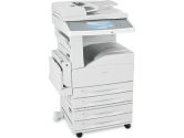 Lexmark X862DTE 4 Multifunction Printer - Monochrome - 45 ppm Mono - 1200 x 1200 dpi - Printer, Scanner, Copier, Fax - USB, USB - Gigabit Ethernet - PC, Mac, SPARC (Lexmark: 19Z0201)