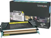 Lexmark Yellow High Yield Return Program Toner Cartridge - Laser - 10000 Page - Yellow (Lexmark: C736H1YG)