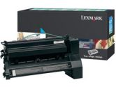 Lexmark XL Extra High Yield Return Program XL Cyan Toner Cartridge - Laser - 16500 Page - Cyan (Lexmark: C782U1CG)