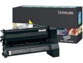 Lexmark XL Extra High Yield Return Program XL Yellow Toner Cartridge - Laser - 16500 Page - Yellow (Lexmark: C782U1YG)