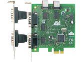 Lava Computer QUATTRO-PCIE Serial Adapter 4 x 9-pin DB-9 RS-232 Serial PCI Express (LAVA: QUATTRO-PCIE)