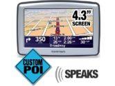 """TomTom XL 330?S Automobile Navigator Refurbished 4.30"""" Active Matrix TFT Color LCD - USB (TomTom: 1EG0.052.10)"""