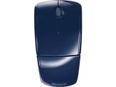 Microsoft Arc ZJA-00029 Mouse - Laser Wireless - Blue Radio Frequency - USB - Scroll Wheel - 4 x Button (Microsoft: ZJA-00029)