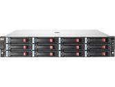 "HP StorageWorks D2600 Hard Drive Enclosure - Storage Enclosure - 12 x 3.5"" - Front Accessible - SAS, SAS - Rack-mountable (Hewlett-Packard: AJ940A)"