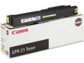 Canon GPR-21 Yellow Toner Cartridge - Laser - 30000 Page - Yellow (Canon: 0259B001)