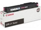 Canon GPR-21 Magenta Toner Cartridge - Laser - 30000 Page - Magenta (Canon: 0260B001)