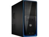 Cooler Master Elite RC-310-BKR2 ATX/ Micro ATX Mid-tower Chasis - 420 W Power Supply - 11 Total Bays - Blue (Cooler Master: RC-310-BKR2)