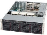 Supermicro Superchassis 836E26-R1200B 3U 16XSAS/SATA Bays 1200W Black (SuperMicro: CSE-836E26-R1200B)