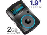 SanDisk Sansa Fuze 2GB MP4 Player - Black (SanDisk: SDMX11R2048K)