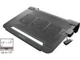 Cooler Master R9-NBC-8PCK-GP NotePal U3 Notebook Cooler - USB Powered, Tri-Fan, Black (Cooler Master: R9-NBC-8PCK-GP)