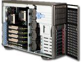 SUPERMICRO CSE-747TQ-R1400B Dark Gray Pedestal Server Chassis (SuperMicro: CSE-747TQ-R1400B)