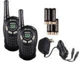 Cobra CXT125C GMRS 2 Pack Two Way Radio 3XAAA 22 Channel 25KM Range Black (Cobra: CXT125C)