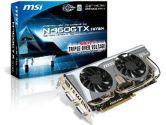 MSI GeForce GTX 460 (Fermi) N460GTX Hawk Video Card (MSI/MicroStar: N460GTX HAWK)