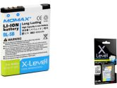 Momax X-LEVEL BL-5B Battery 900MAH for Nokia N80/6120C/5320XM (Momax: BANO3230XL)