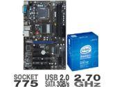 MSI P41-C31 Motherboard and Intel Pentium Dual Core E5400 Processor Bundle (MSI Computer: P41-C31 w/ E5400)