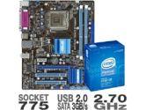 Asus P5G41T-M LX Motherboard w/ Intel Pentium Dual Core E5400 Processor Bundle (Asus: P5G41T-M LX w/ E5400)