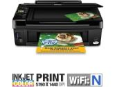 Epson NX420 EPS.MFC.INK.NX420 Stylus All-in-One Color Inkjet Printer - 5760 x 1440 Optimized dpi, USB, WIFI, 1.5 LCD (Epson: EPS.MFC.INK.NX420)