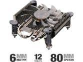 Ultra U12-40658 Carbon X1 Low Profile CPU Cooler - Intel LGA 775, ITX, MATX, HTPC (Ultra: U12-40658)