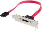 StarTech ESATAPLT1LP 1ft Low Profile SATA to eSATA Plate Adapter (STARTECH: ESATAPLT1LP)