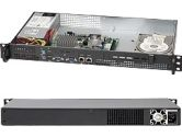 Supermicro CSE-503L-200B 200W 1U Low Noise I O 3.5inch Drive Bay Black Retail (Supermicro: CSE-503L-200B)