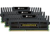 Corsair Vengeance 12GB 3X4GB DDR3-1600 CL9-9-9-24 XMP Triple Channel Core i7 Memory (Corsair: CMZ12GX3M3A1600C9)