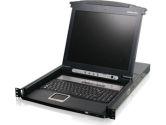 IOGEAR GCL1808 8-Port 17 LCD Combo KVM Switch (Iogear: GCL1808)