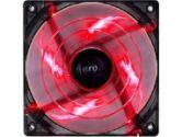 AeroCool Shark Fan 12cm Devil Red Edition Red LED Case Fan (AeroCool: Shark 120mm Red)