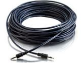 75FT PLENUM 3.5MM STEREO M/M CABLE (Cables To Go: 40522)