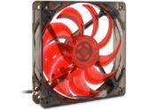 MASSCOOL BLD-12025V1R 4 Red LEDs LED Case Fan (Masscool by Fanner Tech: BLD-12025V1R)