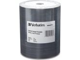 Verbatim 4.7GB 16X DVD-R Inkjet Printable 100 Packs Media Model 97016 (VERBATIM: 97016)
