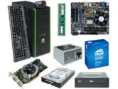 NVIDIA GeForce DIY Kit - GTS 250 512MB Graphics, Intel G41 Mobo, Intel E5400 2.7Ghz CPU, CPU Cooler, 2GB DDR3 RAM, 22X DVD Writer, 500GB Hard Drive, Keyboard, Optical Mouse, Nvidia Case, 500W PSU (NVIDIA: 103275)