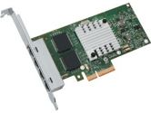 Intel I340 Ethernet Server Adapter Quad Port Copper 1GBIT PCI Express (Intel: E1G44HTBLK)