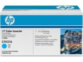 HP Color Laserjet CF031A Cyan Print Cartridge (Hewlett Packard: CF031A)