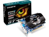 GIGABYTE GeForce GT 440 (Fermi) GV-N440D3-1GI Video Card (Gigabyte: GV-N440D3-1GI)
