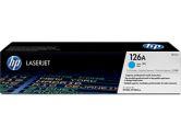 HP 126A Cyan Laserjet Toner Cartridge (Hewlett Packard: CE311A)