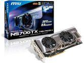 MSI GeForce GTX 570 (Fermi) N570GTX Twin Frozr II OC Video Card (MSI: N570GTX TWIN FROZR II/OC)