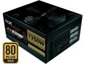 OCZ ZX Series 1250W ATX12V 24PIN Active PFC 80 Plus Gold 104A Power Supply 140MM Fan Black 5 Yr Wrty (OCZ Technology: OCZ-ZX1250W)