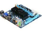 Gigabyte MB GA-E350N-USB3 AMD Hudson-M1 FCH DDR3 SATA DVI MiniITX Retail (Gigabyte: GA-E350N-USB3)