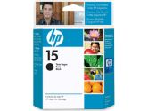 HP - HP Ink 15 Black Inkjet Print Cartridge for HP Deskjet 810C/812C/840C/842C (HP Commerical: C6615DC#140)