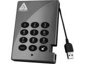 "Apricorn Aegis Padlock 640 GB EXT 2.5"" USB2.0 / AES-128 Bit (Apricorn Inc.,: A25-PL128-640)"