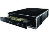 LG GE20LU11 External 20X DVDRW Lightscribe USB Black (LG Electronics: GE20LU11)