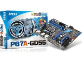 MSI P67A-GD55 (B3) ATX Intel Motherboard (MSI/MicroStar: P67A-GD55 (B3))