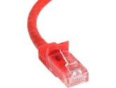 Startech 50FT Red Snagless CAT6 UTP Patch Cable (Startech.com Ltd: N6PATCH50RD)
