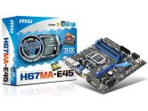 MSI H67MA-E45 (B3) Micro ATX Intel Motherboard (MSI/MicroStar: H67MA-E45 (B3))
