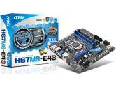 MSI H67MS-E43 (B3) Micro ATX Intel Motherboard (MSI/MicroStar: H67MS-E43 (B3))
