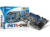 MSI P67A-C43 (B3) ATX Intel Motherboard (MSI/MicroStar: P67A-C43 (B3))