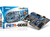 MSI P67A-GD53 (B3) ATX Intel Motherboard (MSI/MicroStar: P67A-GD53 (B3))