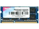 Patriot Signature DDR3 4GB CL9 PC3-10600 1333MHZ SODIMM (Patriot: PSD34G13332S)