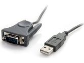 Startech USB to RS232 DB9/DB25 Serial Adapter Cable M/M (Startech.com Ltd: ICUSB232DB25)